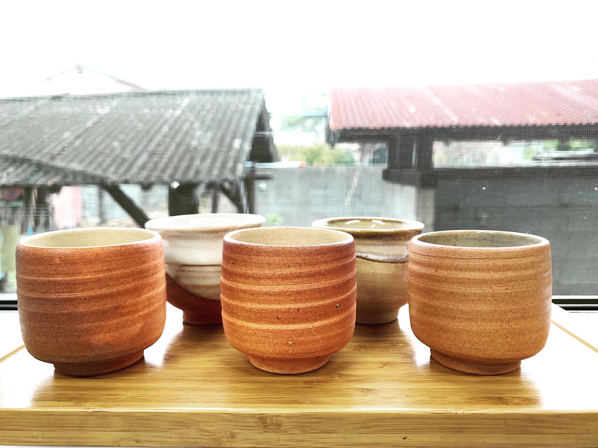 信楽焼 湯飲み茶碗